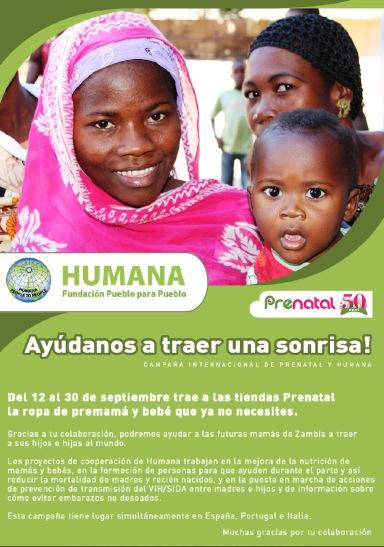 HUMANA CAMPAÑA PRENATAL ZAMBIA