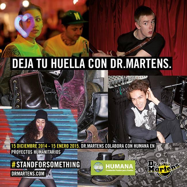 HUMANA CAMPAÑA DR MARTENS