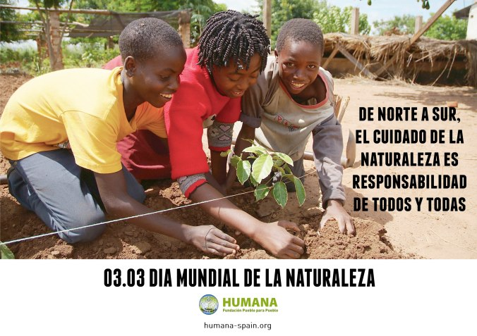 HUMANA DIA MUNDIAL DE LA NATURALEZA