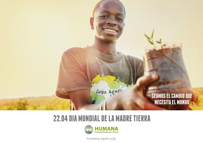 HUMANA_DIA MUNDIAL DE LA TIERRA_COOPERACION