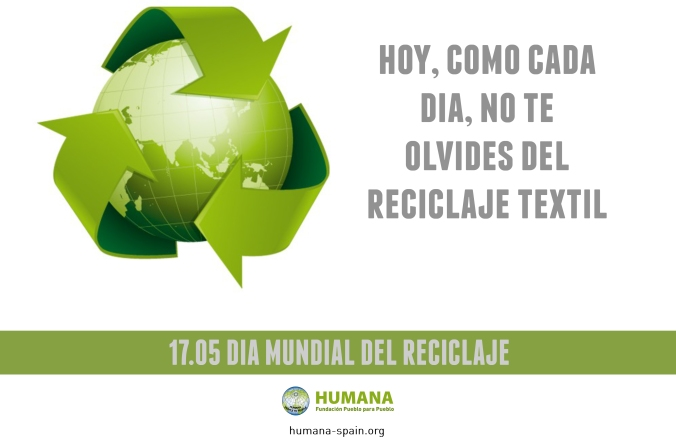 HUMANA_DIA MUNDIAL DEL RECICLAJE_ROPA