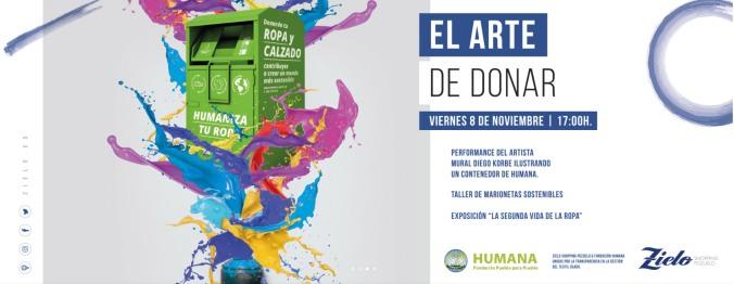 HUMANA_ZIELO SHOPPING_EL ARTE DE DONAR